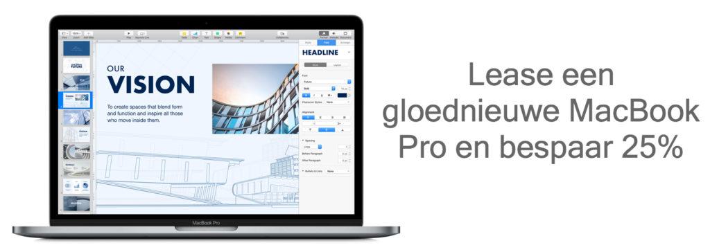 MacBook pro leasen