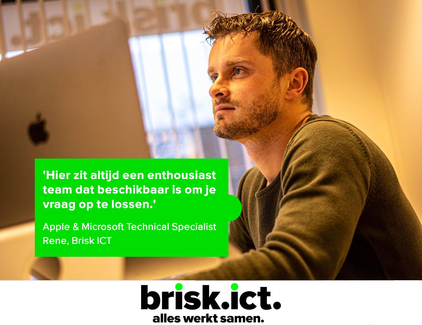 Rene_heldeskmedewerker_brisk_ict